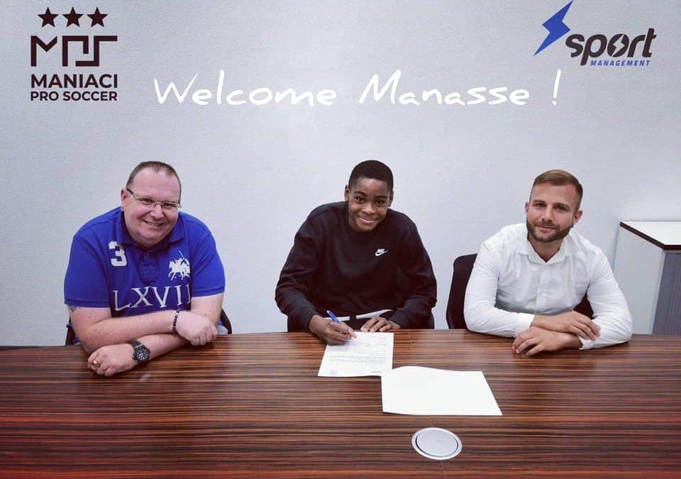Manassé Kilezi nous rejoint | 21.07.2020